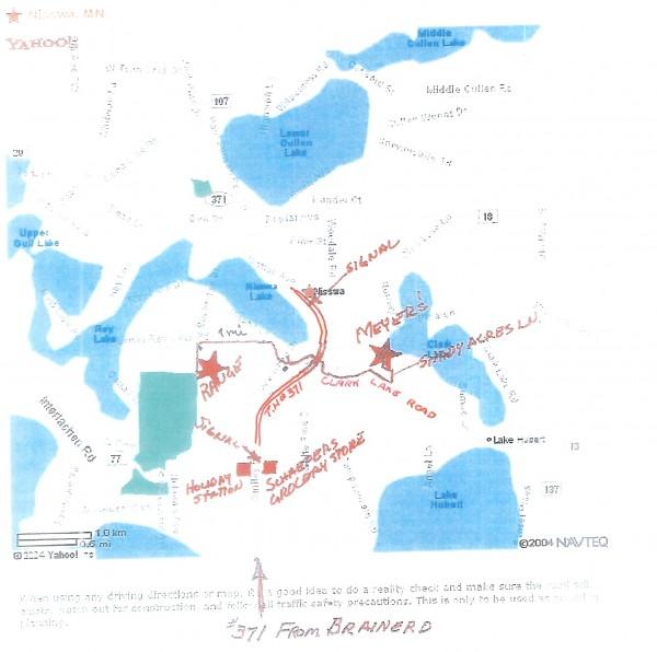 Nisswa-directions